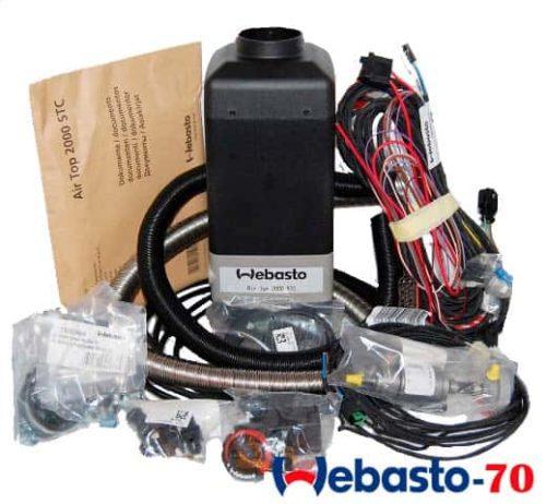 Комплект поставки webasto air