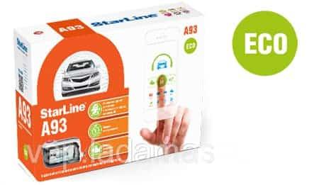 Старлайн А93 Эко - автосигнализация с автозапуском