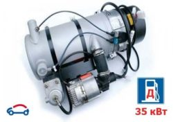 webasto thermo 350 на 35 кВт для тяжёлой техники и суровых климатических условий