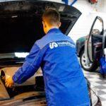 Процесс установки подогревателя двигателя Вебасто в сервисе Инсталл Авто (Webasto-70) на ул. Суворова, 21/1