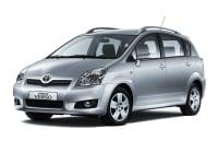Цена установки Webasto (Вебасто) на Toyota Corolla Verso (2004-2009)